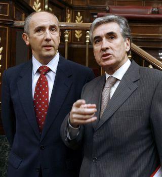 Una instantánea con Ramón Jauregui en el hemiciclo