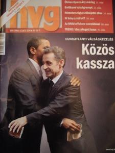 Portada de un semanario húngaro que se muestra escéptico con respecto a los foros multilaterales llamados a resolver los grandes problemas de nuestro tiempo