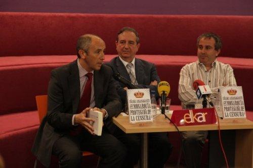 Una imagen del acto de presentación del libro