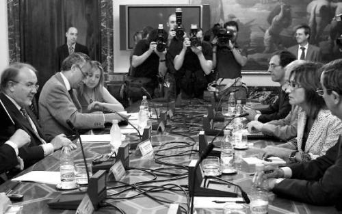 Reunión, ya histórica, de la Comisión Mixta del Concierto Económico