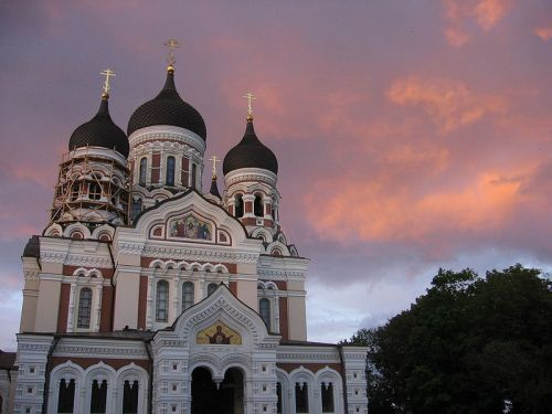 Catedral ortodoxa rusa de Tallin