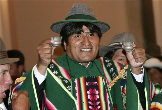 Evo Morales en Madrid | Blog de Josu Erkoreka