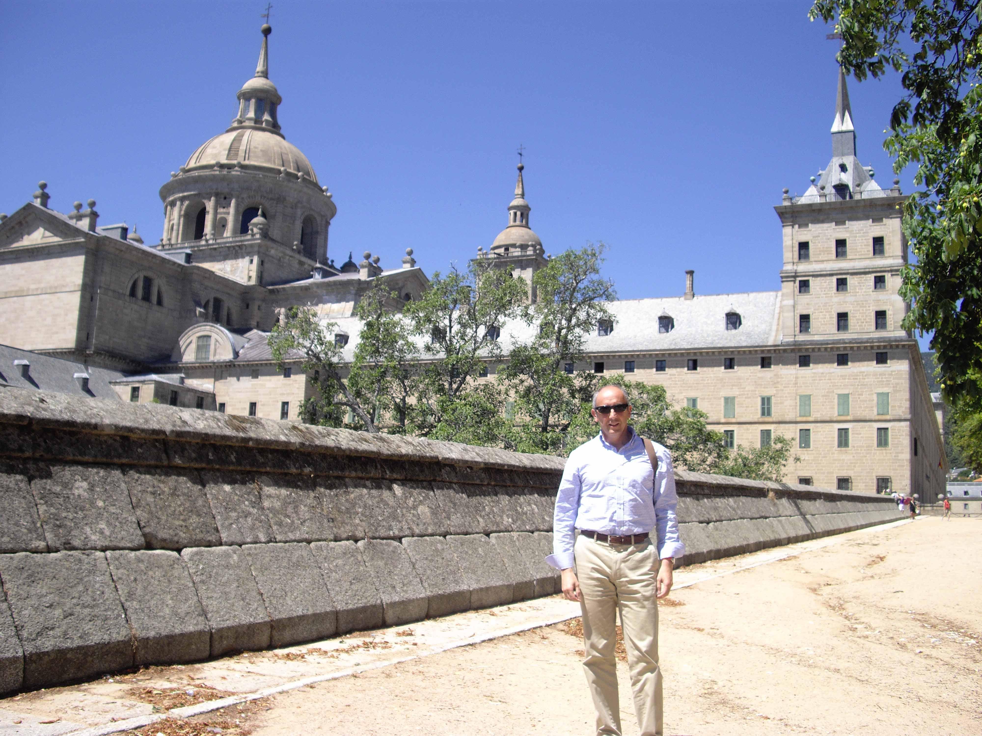 En El Escorial, antes del